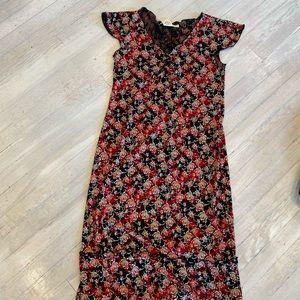Max studios floral print dress